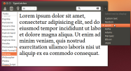 Choose a text snippet or use custom text.